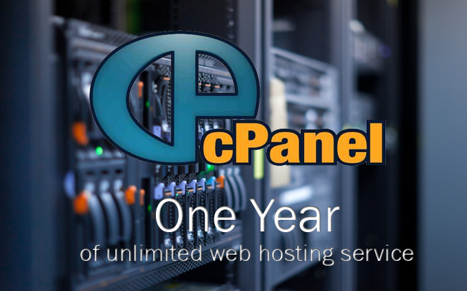 offer you one year service of web hosting