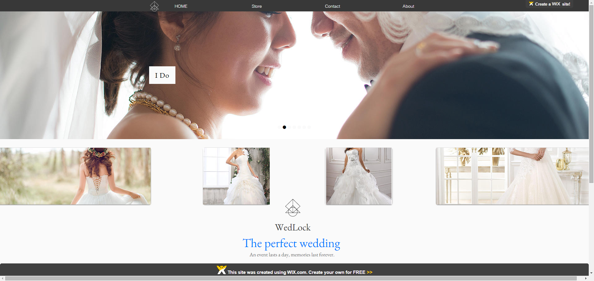 create a Professional Wix site for