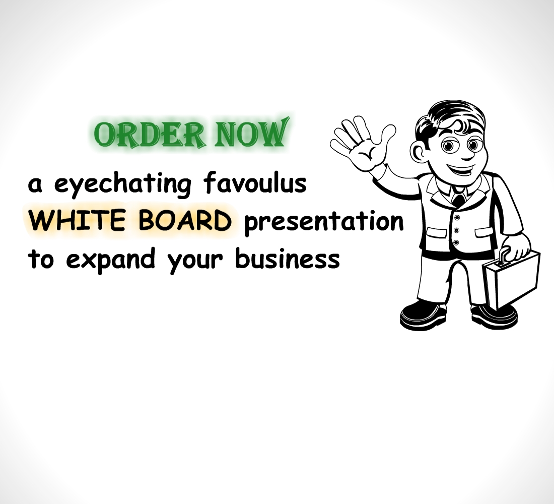 create an eye catching white board animation