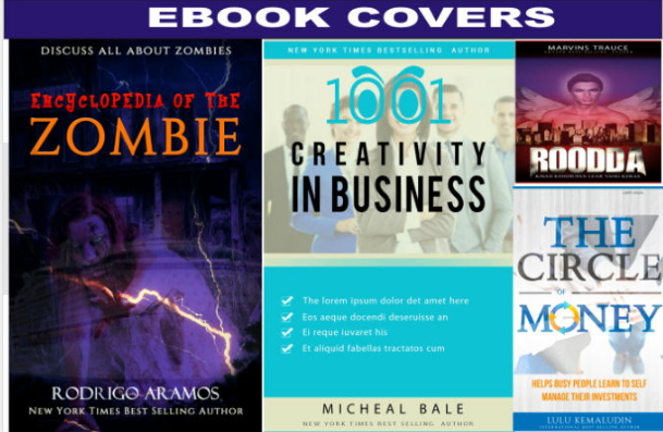 design a POPPING book cover