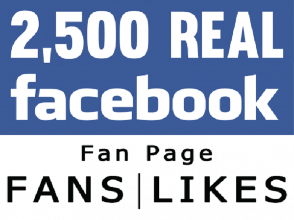 give 2500 page likes