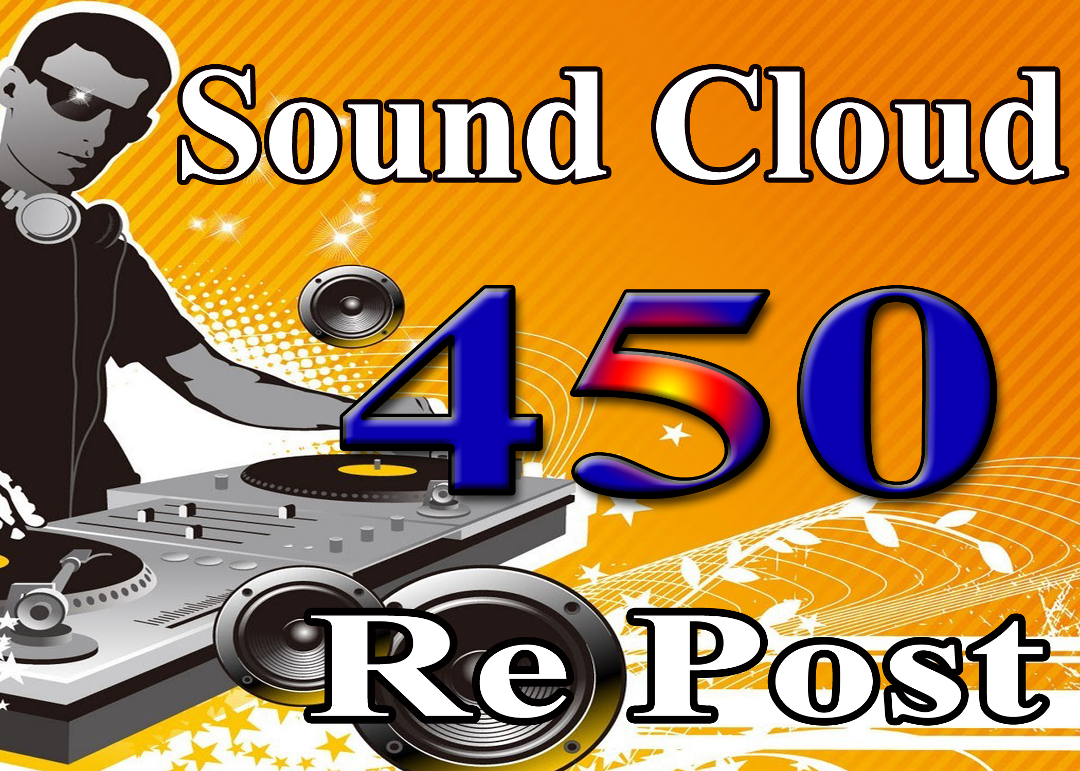 provide you 450+ Soundcloud Re Post of your truck only price