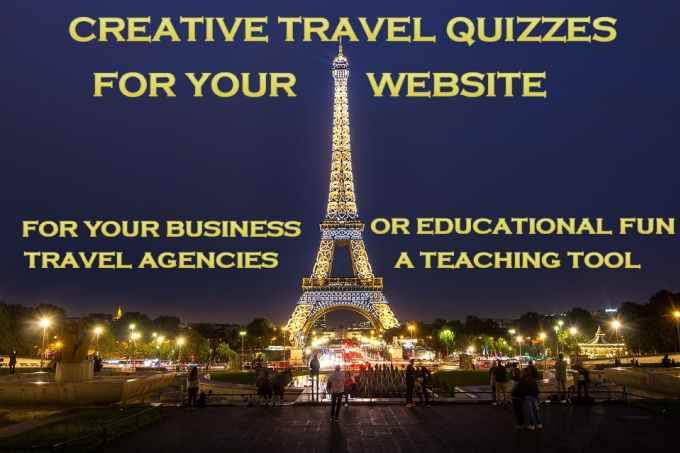 create a Travel Quiz for your travel website