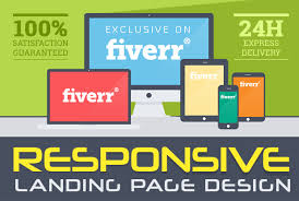 design and develop spectacular landing page