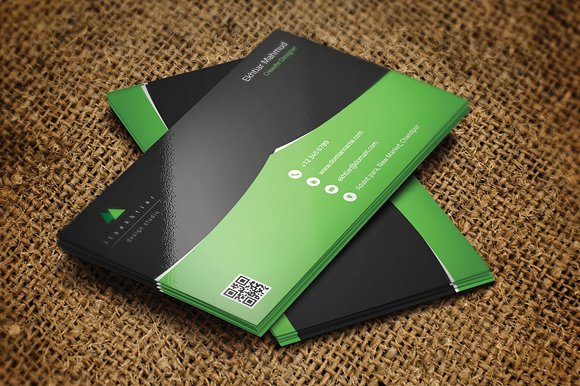 Do create a professional business card for you