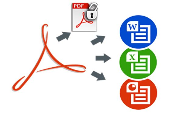 PDF to Any format converting