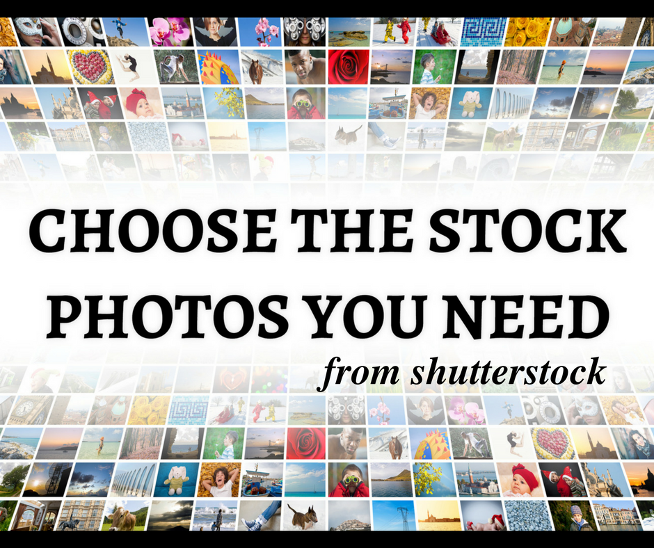provide 10 specific Shutterstock photos of your choice