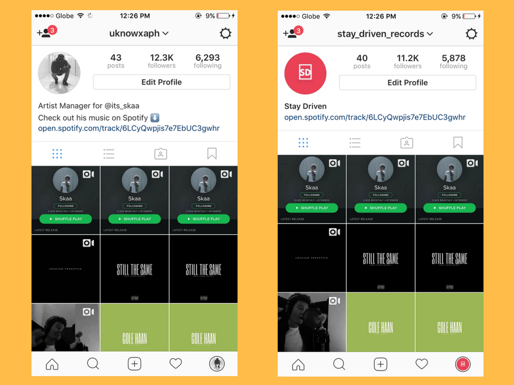promote your music to 23,000 Instagram music niche followers