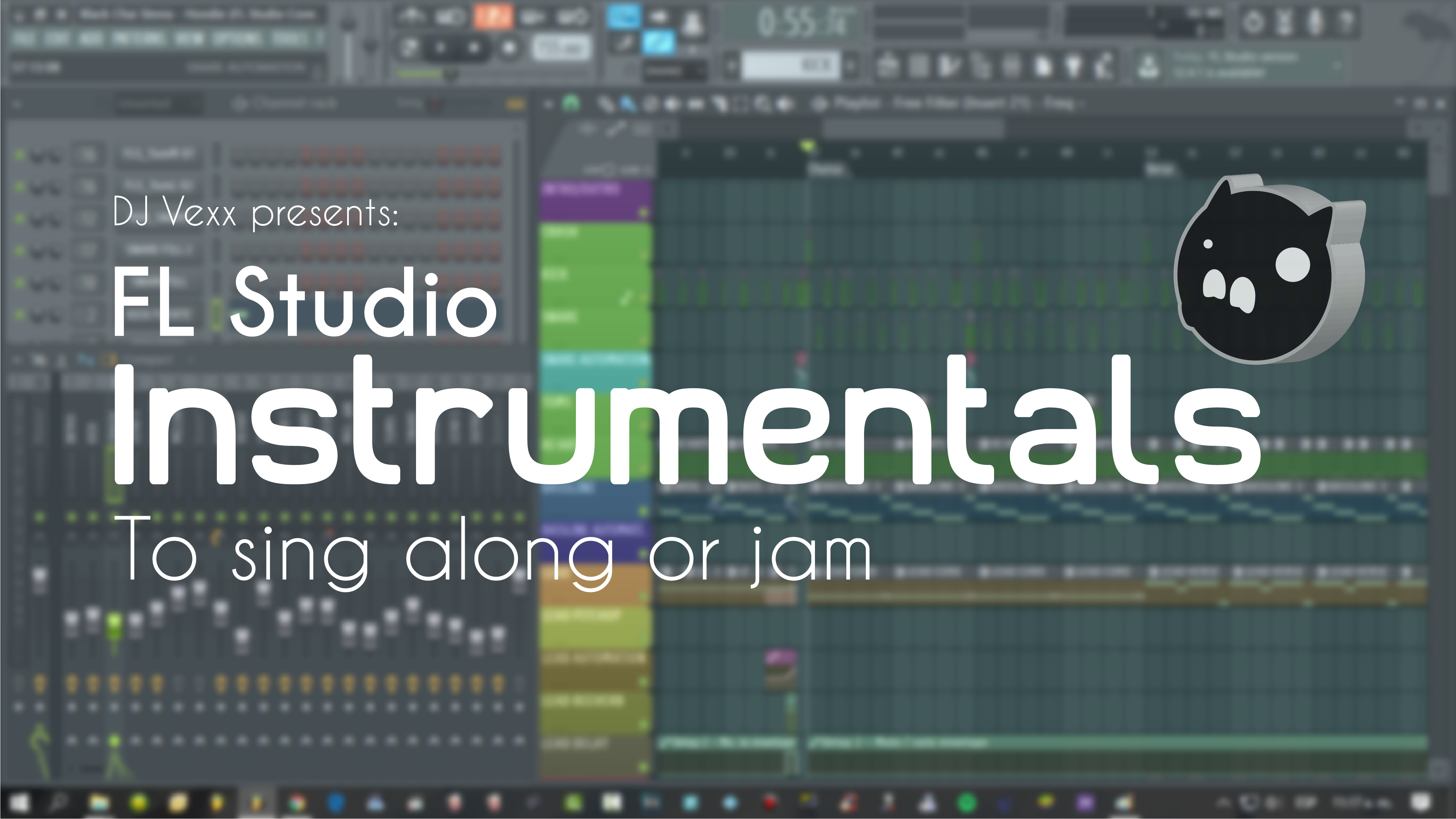 instrumental remake a song on FL Studio