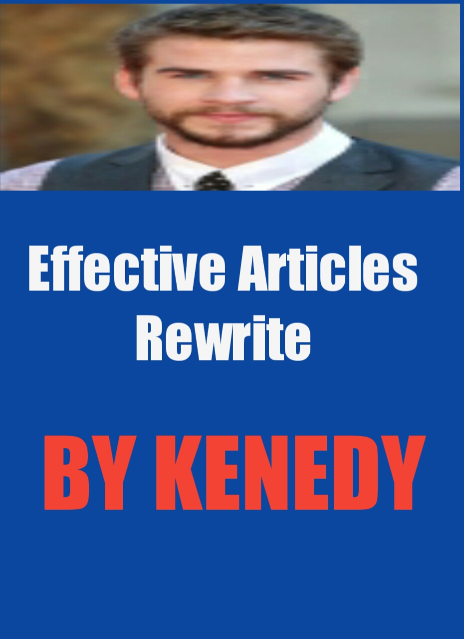 Write Or Rewrite 10 Effective Articles