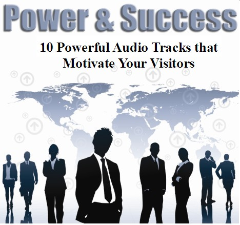 send you 10 motivational royalty free audio tracks