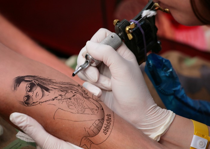create professional TATTOO photo with your own photo