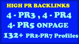create 132+ DOFOLLOW High PR2 to PR7 extremely licensed Google Dominating BACKLINKS like Paul-Angela Profiles Links