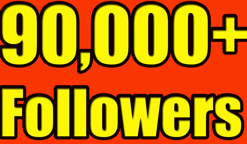 Gives you 90,000+Super Fast Twitter Real Followers.
