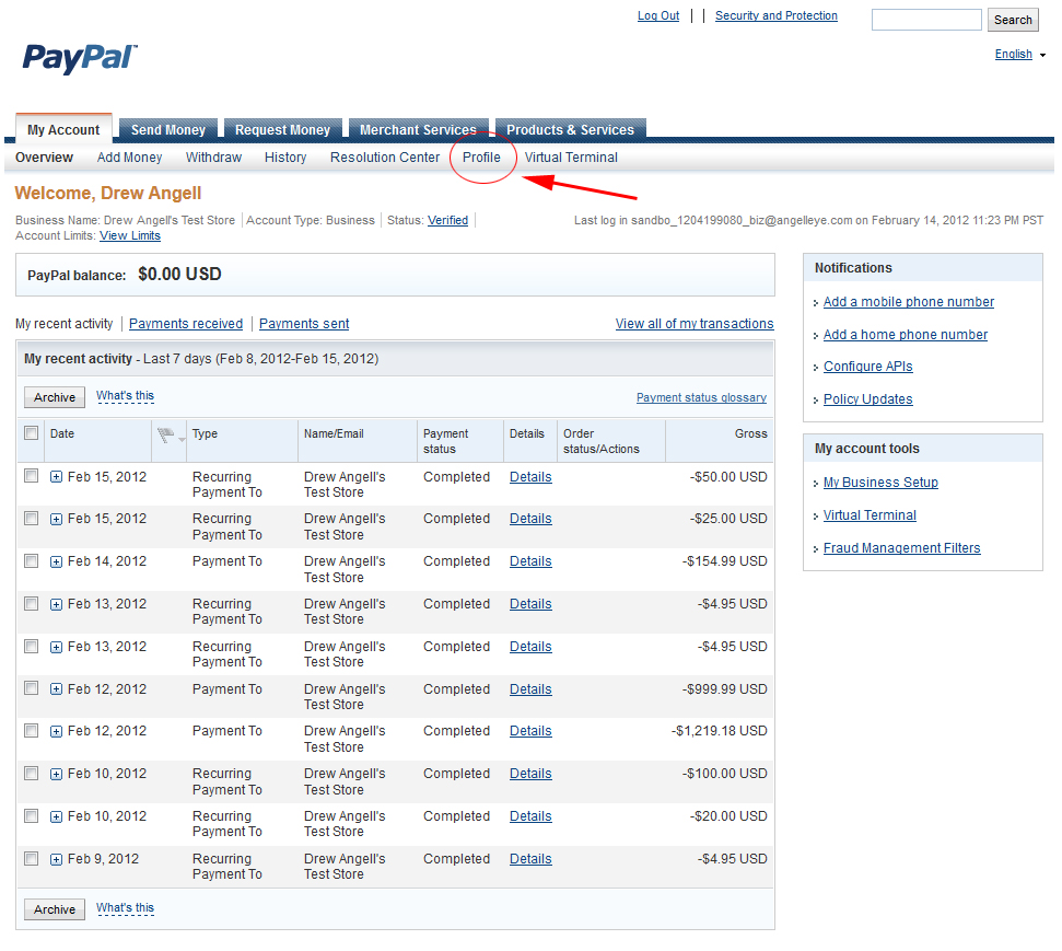 give you us paypal verified account