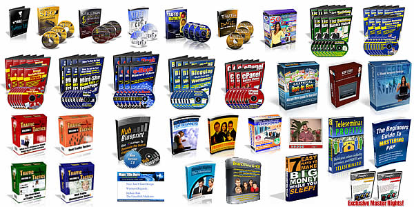 give you 1400+ MRR/PLR Products!