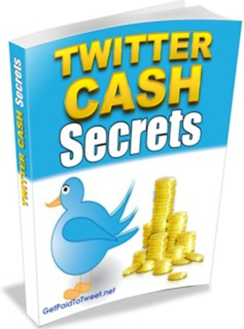 give you Twitter Cash Secrets (Website include)