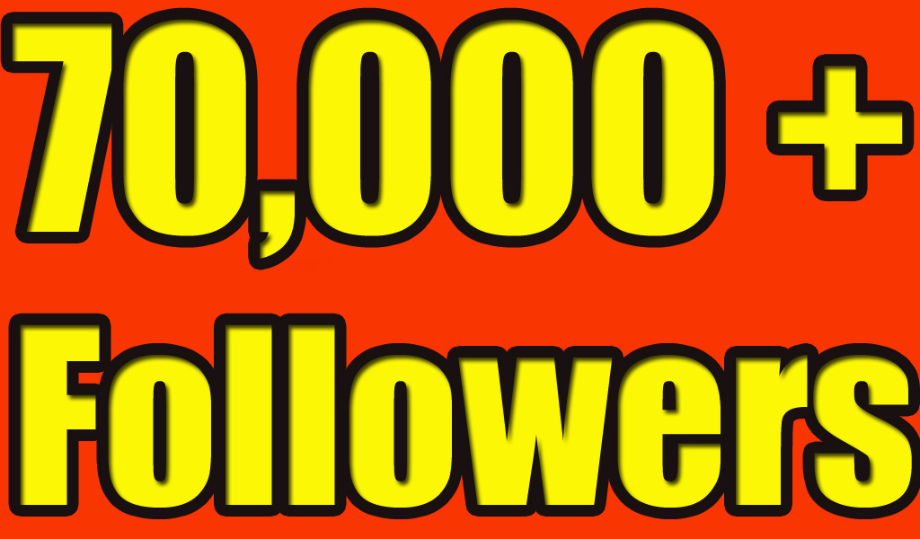 Gives you 70,000+ Super Fast Twitter Real Followers.