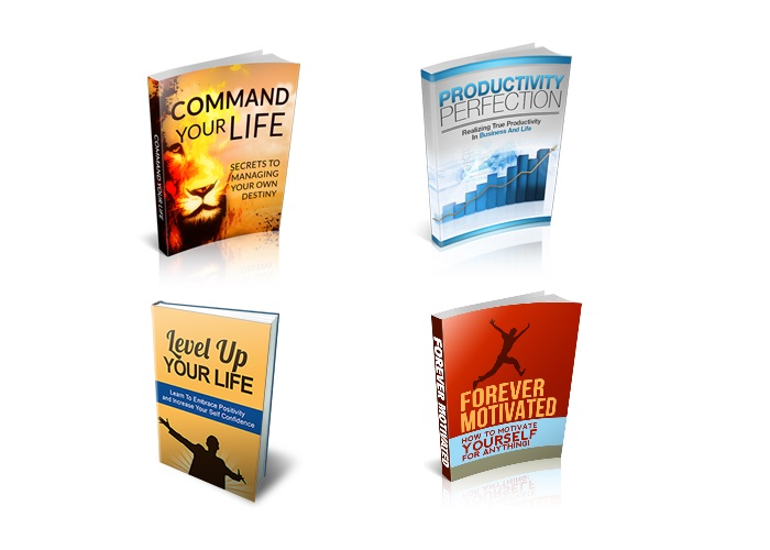 send you a premium 4 ebooks about self improvement