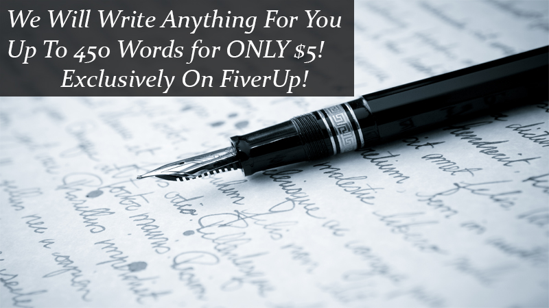 write anything for you up to 450 words