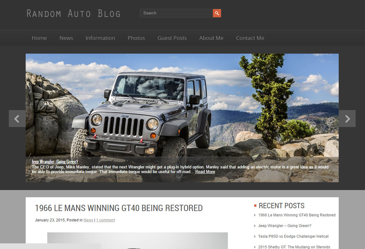 post your advertisement on my automotive blog