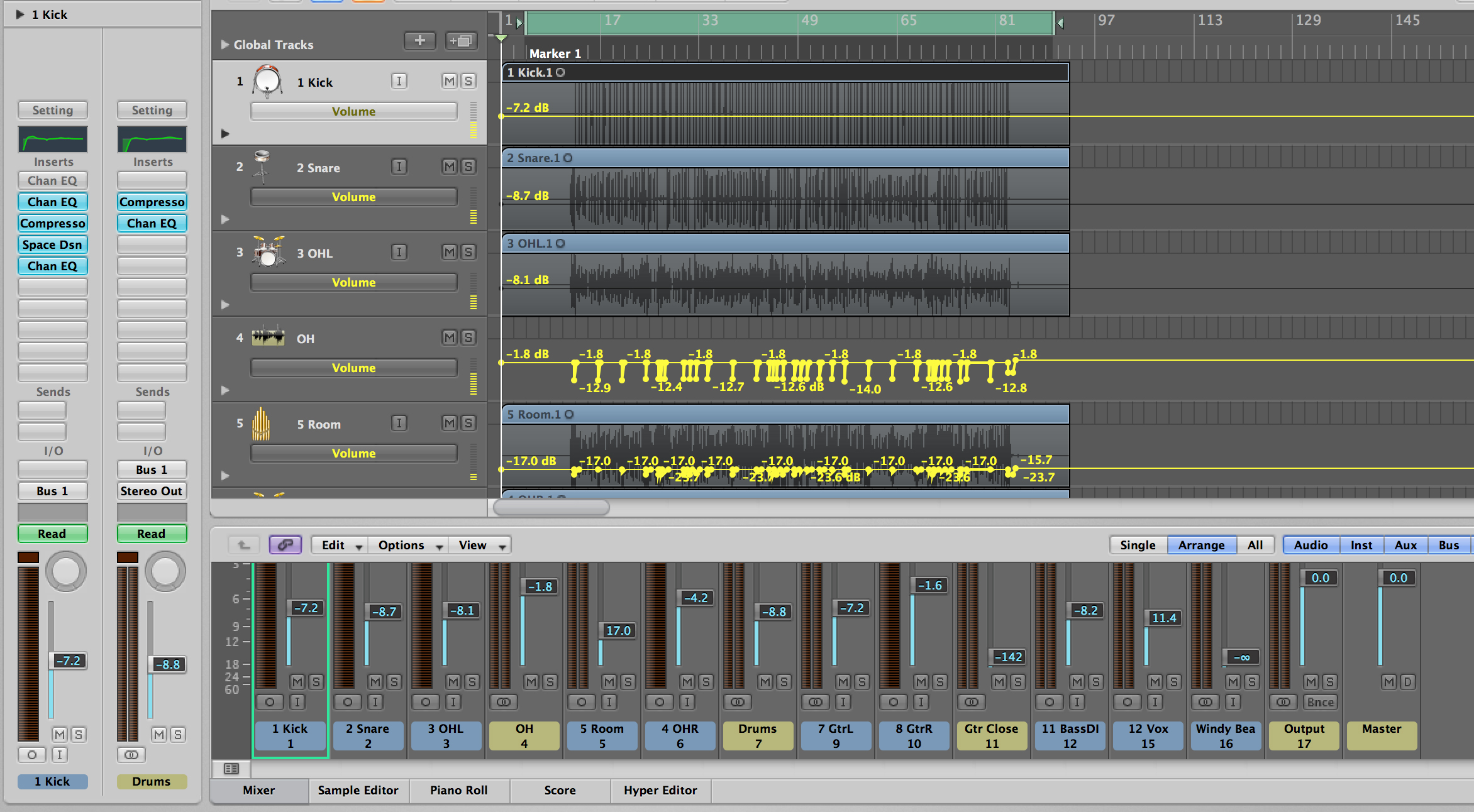 professionally edit, mix and master your tracks