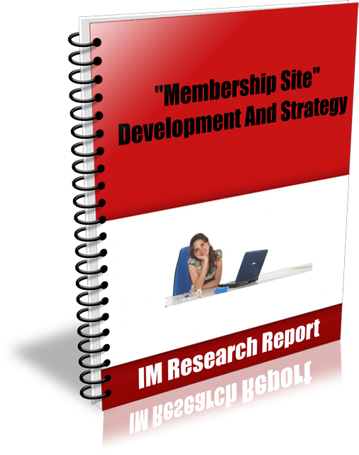"""send you an e-book on Internet Marketing MRR report """"Membership Site – Development And Strategy"""""""