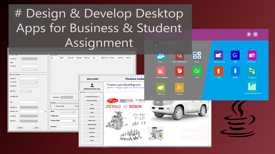 do any Java Program for you. Any Assignments or Develop