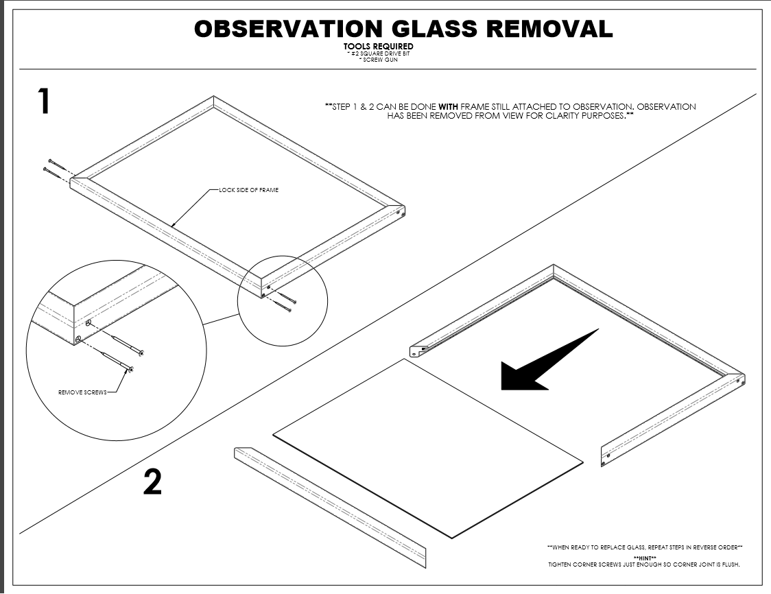 create assembly instructions for your products
