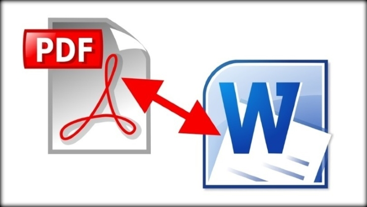 Convert pdf to Ms Word format and vice versa