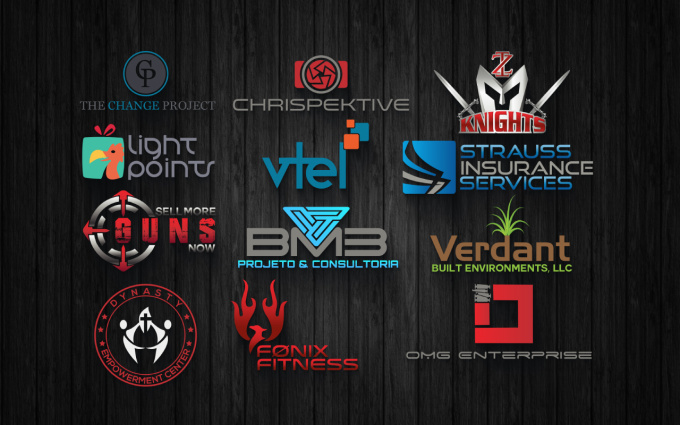 design 2 creative Logo for your Business or Brand in 12 hour