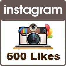 give 500 instagram likes in 5$