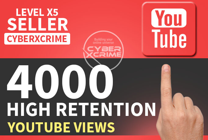 give 4,000 Youtube views