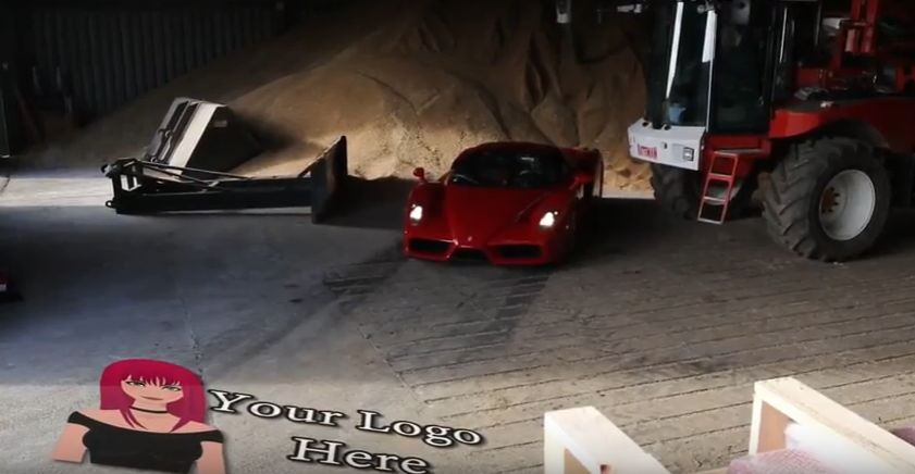 promote your business on this Ferrari Enzo Video
