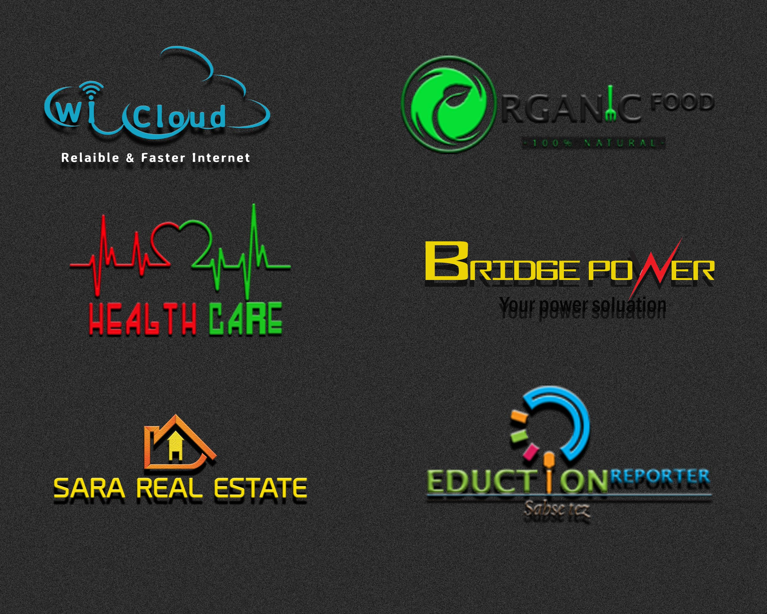 design stunning 2 logo for you in 4 hours