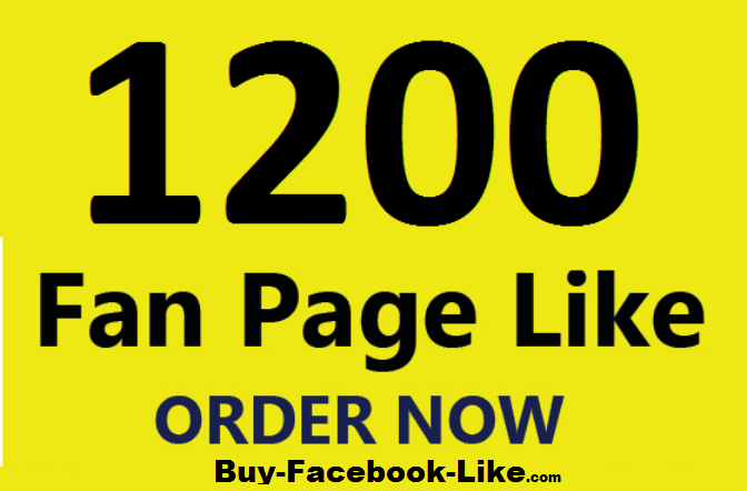 promote your facebook post 1200 Like