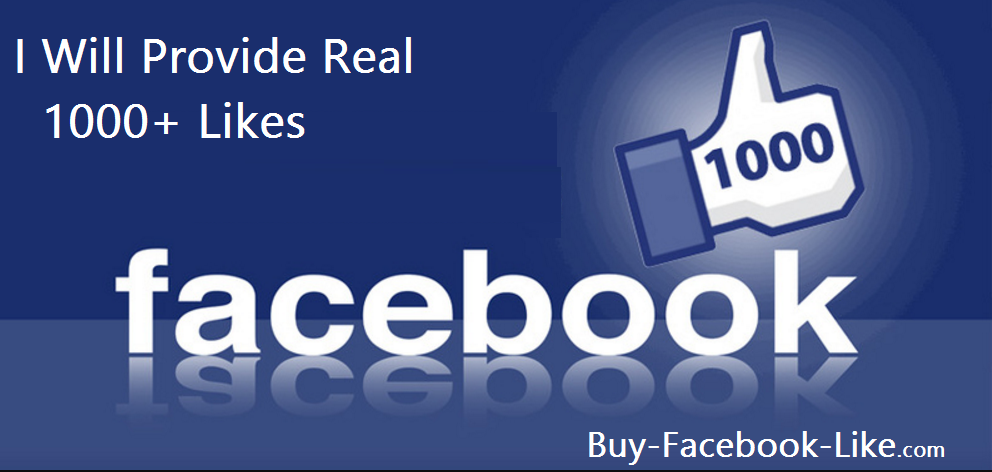 promote your Real facebook post 1000 Like