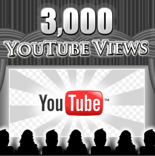give you 3000+ youtube views