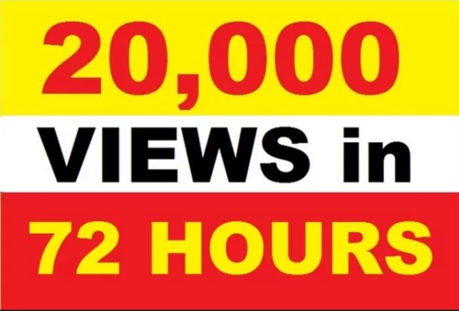 promote your Youtube video to 20,000 real viewers