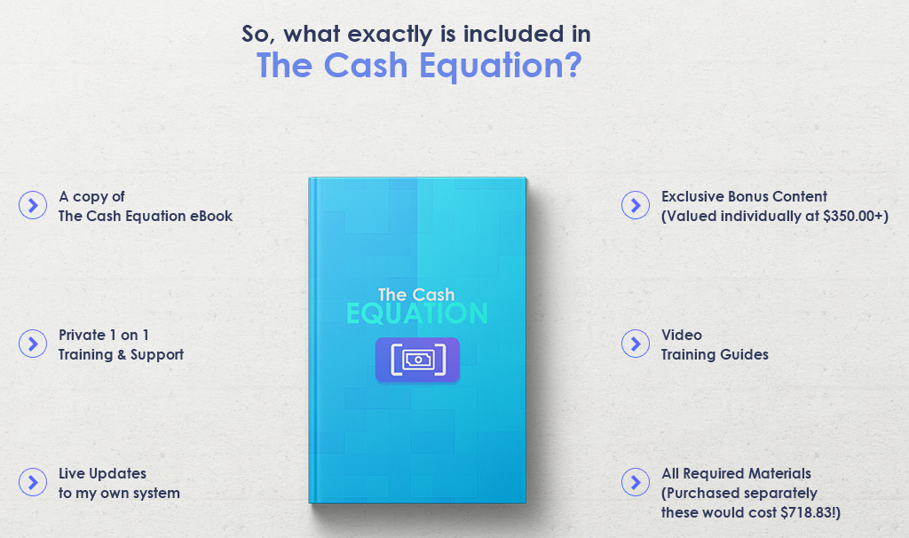teach you The Cash Equation online earning method