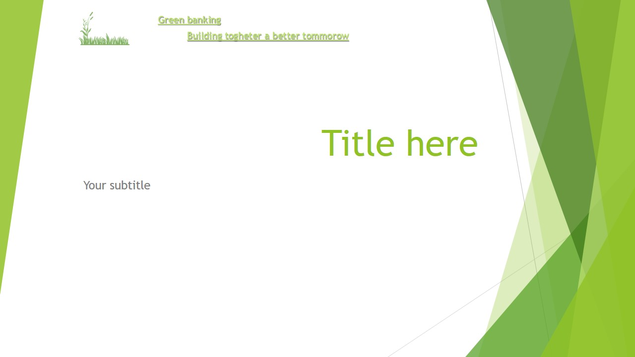 make a professional Powerpoint template