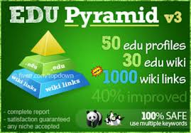 create an excellent edu pyramid with 80 edu backlinks and 1000 wiki properties, highest SEO authority