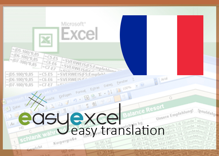give you an Excel tool that will automatically translate English-French