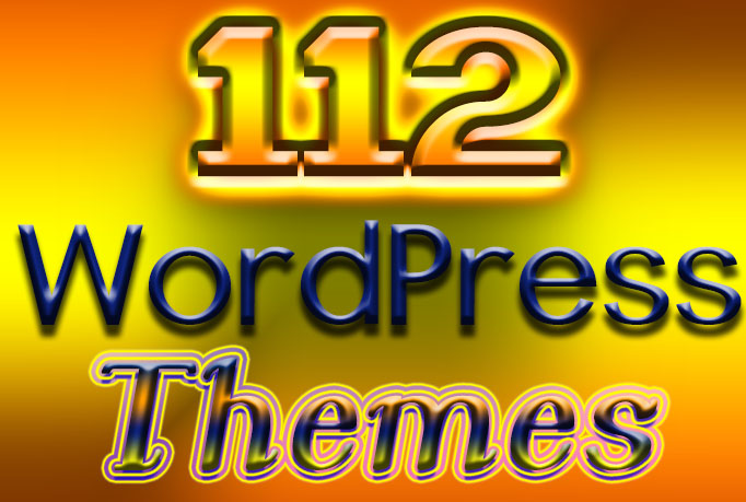 Instand download 112 WordPress Themes