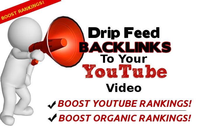 drip backlinks to your Youtube video testimonial