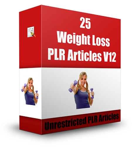 send you 25 professional articles about weight loss