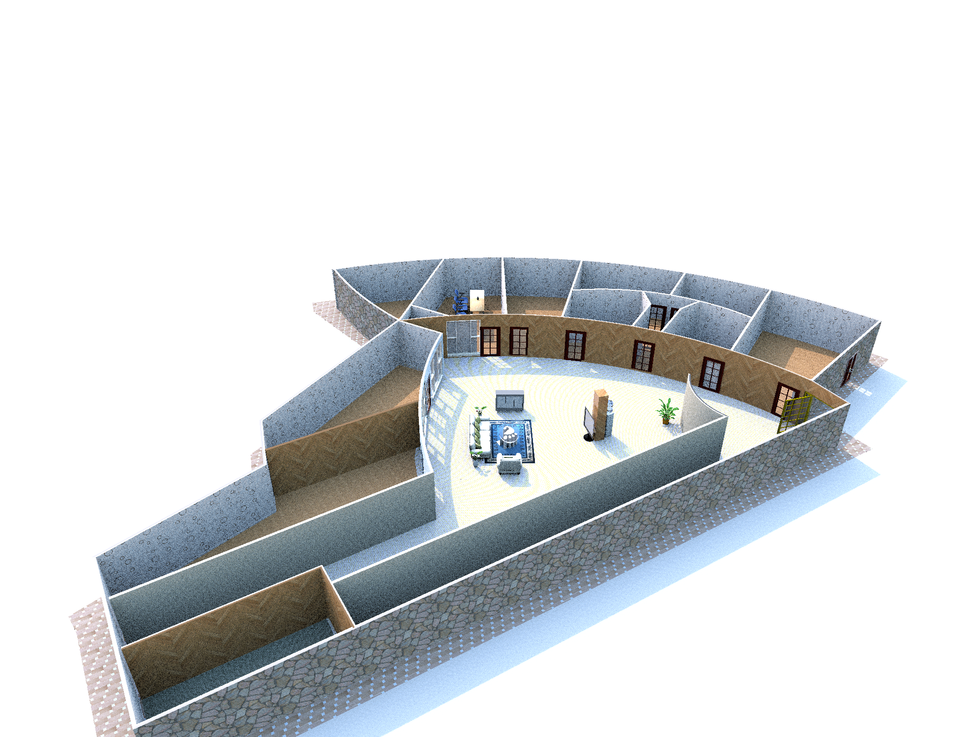 creates 3d floor plan or model sketchup the fastest, best for you