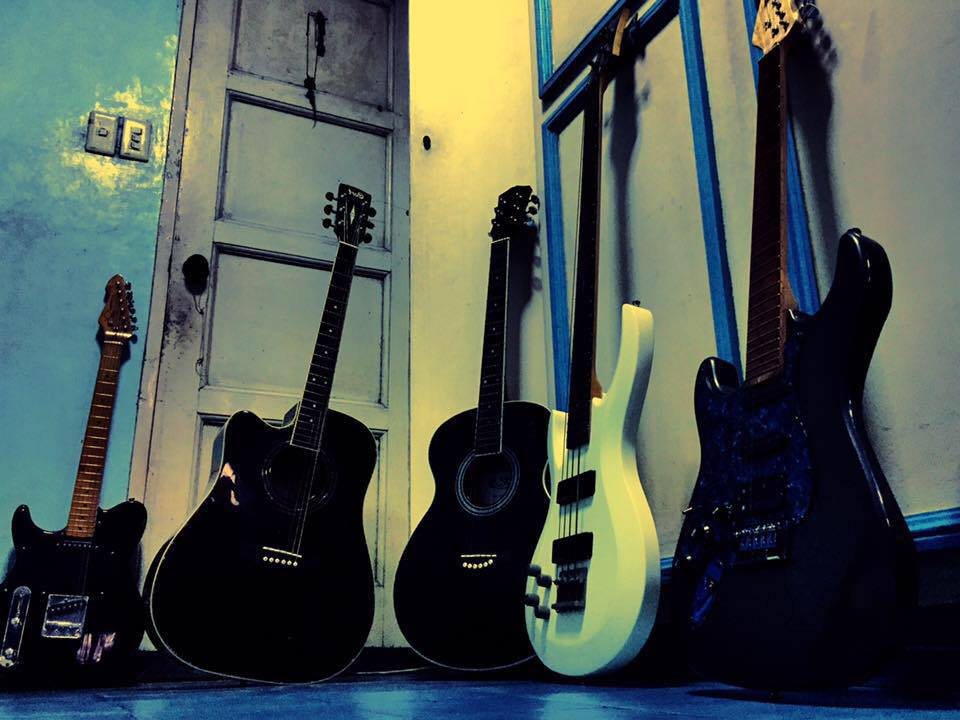 do guitar riffs or happy instrumental songs for you