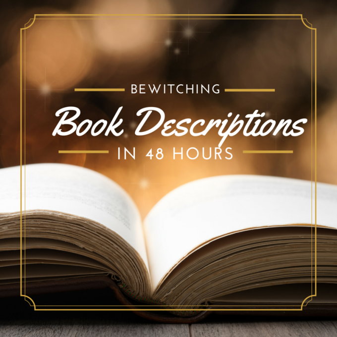 rewrite your book description