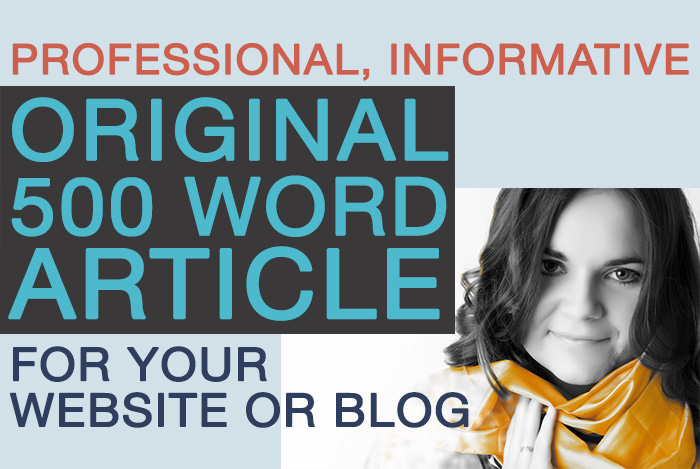 write an original and engaging 500 word article